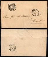 1 Cent Nero Intenso (19e) - Isolato Su Circolare Da Brescia A Toscolano Del 2.1.63. - Cert. AG (3.000) - Stamps