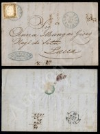 10 Cent Bruno Bistro (14Co) Su Lettera Da Pietrasanta (azzurro - P.ti 8) A Lucca Del 22.1.62 (1.200) - Stamps