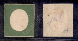 1854 - Non Emesso - 5 Cent Verde Oliva (10) Ben Marginato Nuovo Con Gomma - Fiecchi (8.000) - Stamps