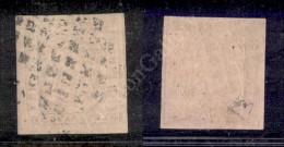 1853 - 40 Cent Rosa Chiaro (6b) Con Doppia Impronta A Secco Molto Ben Impressa - Preciso In Alto - Molto Bello - E.... - Stamps