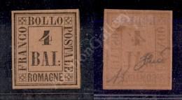 1859 - 4 Bai Fulvo (5) Nuovo Con Gomma - Molto Bello - A. Diena (1.200) - Stamps