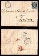 Corps Expeditionnaire D'Italie 2 Division (P.ti 7) - 20 Cent Su Lettera Per Tolosa Del 27.9.62 - Cert. E.... - Stamps