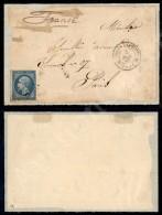 Corps Expedit 2 Rome 2 + CER (P.ti R3) - Frontespizio Col 20 Cent (2) Per La Francia Del 3.12.67 - Stamps