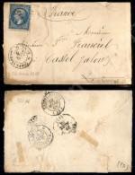 Corps. Expedit 2 Rome 2 + CER (P.ti 12) - Bustina Col 20 Cent (2) Per La Francia Del 26.3.68 - Stamps