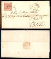 Svolazzo Di Chieti (P.ti 7) - 1 Grano (4) Isolato Su Lettera Per Città 10.11.1860 - Preciso A Sinistra -... - Stamps