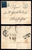 40 Cent (6) Isolato Su Lettera Da Modena A Strassissa (Balcani) Del 12.3.55 Cert, Raybaudi (875+) - Stamps