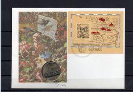 DDR, 1989, Numisbrief, Michel Block 97-5 Mark Mühlhausen - [6] Democratic Republic