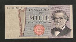 REPUBBLICA ITALIANA - 1000 Lire - VERDI II° Tipo - 1969 - Firme: Carli / Lombardo) - [ 2] 1946-… : Repubblica