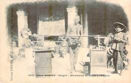Vietnam - Saïgon - Marchand De Soupe Ambulant (Cochinchine) (publicité A La Povidence Confiserie 146 Rue De Rivoli) - Viêt-Nam