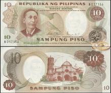 Philippines. 10 Piso (Unc) 1969. Banknote Cat# P.144b [DLC.BN05208] - Filippijnen