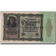 Allemagne, 50,000 Mark, 1922, KM:80, 1922-11-19, SPL - [ 3] 1918-1933 : Repubblica  Di Weimar