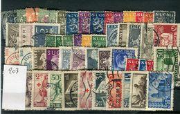 Finlande -  Lot De 53 Valeurs Oblitérés , états Divers  - Réf  203 - Stamps