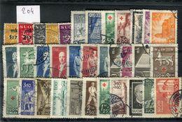 Finlande -  Lot De 34 Valeurs Oblitérés , états Divers  - Réf  204 - Stamps