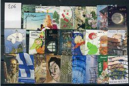 Finlande -  Lot De 26 Valeurs Oblitérés , états Divers  - Réf  206 - Stamps
