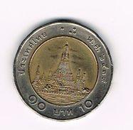 )  THAILAND 10 BAHT  1996 ( 2539 ) - Thaïlande