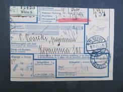 PAKETSCHEIN 1929 Nach Wien   //// D*26005 - 1919-1929 Königreich Der Serben, Kroaten & Slowenen