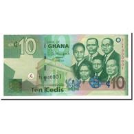 Ghana, 10 Cedis, 2007-2015, 2015-07-01, KM:39f, NEUF - Ghana
