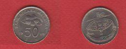 Malaisie  / 50 Sen 1989 / KM 53 / SUP - Malaysie