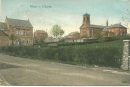 Aubange Athus L'eglise Couleur 1908 - Aubange