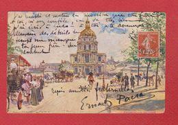 Paris  --  Les Invalides - France