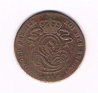 )  LEOPOLD I   2 CENTIEM   1846 - 1831-1865: Leopold I
