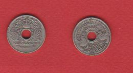 Nether East Indies  / 5 Cents 1921 / KM 313 / TB - India