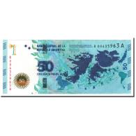 Argentine, 50 Pesos, 2015, KM:362, NEUF - Argentine