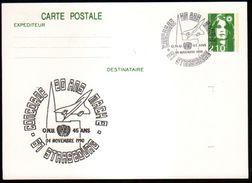 Entier Postal ,stationery Card, 67 Strasbourg, Aviation, Concorde 20 Ans Mach 2 - Enteros Postales