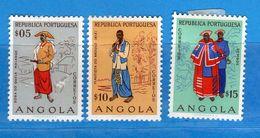 Ref. (Mn.1 ) ANGOLA - * 1957 - , Yvert  390-91-92.. MH. Vedi Descrizione - Angola