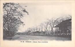 VIET NAM Vietnam ( Tonkin ) HANOÏ : Le Parc D'Artillerie - CPA Précurseur - - Viêt-Nam
