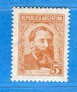 Ref. (Mn.1 ) Argentina - ** 1957 - , Yvert  578A.   MNH.    Vedi Descrizione - Nuovi