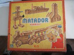 """SCATOLA """"MATADOR KORBULY"""" DI COSTRUZIONI DI LEGNO - Other"""
