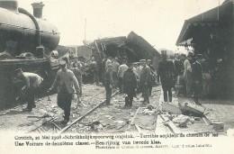 Contich Kontich 21 Mai 1908 Schrikkelijk Spoorweg Ongeluk Terrible Accident De Chemins De Fer - Kontich
