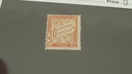 LOT 360403 TIMBRE DE FRANCE NEUF* N°34 VALEUR 950 EUROS - Postage Due