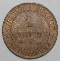 GADOURY 88 - 1 CENTIME 1879 A PARIS TYPE CERES - SUP - KM 826.1 - Francia