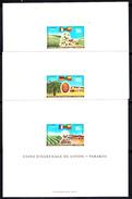 DAHOMEY - N° 282/283+PA 109 - COTON - PALME - KENAF -  3 EPREUVES DE LUXE. - Agriculture
