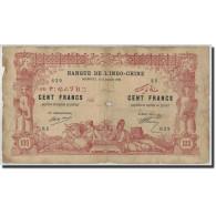 Côte Française Des Somalis, 100 Francs, 1920, KM:5, 1920-01-02, B - Djibouti