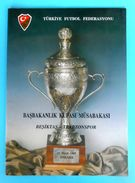 BESIKTAS JK : TRABZONSPOR - 1997. Turkey Football Cup Soccer Programme Fussball Programm Turkey Turquie Türkei Turquia - Books