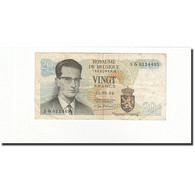 Belgique, 20 Francs, KM:138, 1964-06-15, B+ - [ 6] Treasury