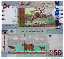 SUDAN       50 Sudanese Pounds       P-75c       3.2015       UNC - Sudan