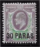 Levant Anglais N°26 - Neuf * Avec Charnière - TB - British Levant