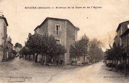 77Vn   34 Roujan Avenue De La Gare Et De L'église - Other Municipalities