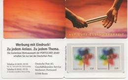 "BRD Portocard Individuell Postfrisch ""Auf Gute Zusammenarbeit"" 2x MiNr 2106 Post; Postfrisch; Postal Service; MNH - [7] République Fédérale"