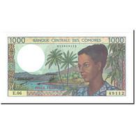 Comoros, 1000 Francs, 1984, KM:11b, NEUF - Comoros