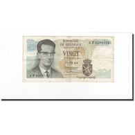 Belgique, 20 Francs, KM:138, 1964-06-15, TB - [ 6] Treasury