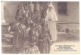 Cpa Catéchistes Missionnaires De Marie-Immaculée, Bangalore ( Hindoustan ) - Cartes Postales