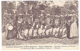 Cpa Catéchistes Missionnaires De Marie-Immaculée, Nagpur ( Hindoustan ), Ghonds, Hommes Et Femmes En Costumes ... - Cartes Postales