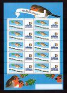 France Neuf ** Bloc Feuillet De 2003 Comprenant 10 Vignettes Personnalisées N° 3621a Cote 60€ Logo Timbres - Personalized Stamps
