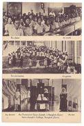 Cpa Bangkok ( Siam ), Au Pensionnat Saint-Joseph ... ( école ) - Thaïlande