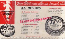 59 - ROUBAIX - BUVARD ETS JEAN BART- CIRAGE CREME CHAUSSURES - LES MESURES - Shoes